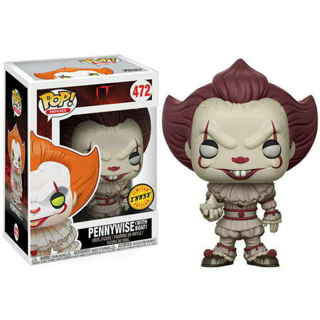 Funko Pop  Movies Pennywise  With Boat  Vinyl Figure  Sepia Colored  Chase Version
