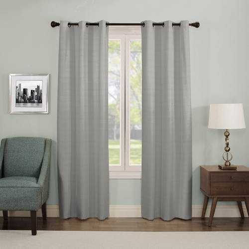 Eclipse Nottingham Thermal Energy-Efficient Grommet Curtain Panel