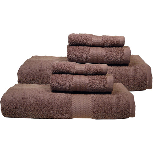 Ringsoft Oversized Heavy Weight Ringspun Cotton 6pc Towel Set