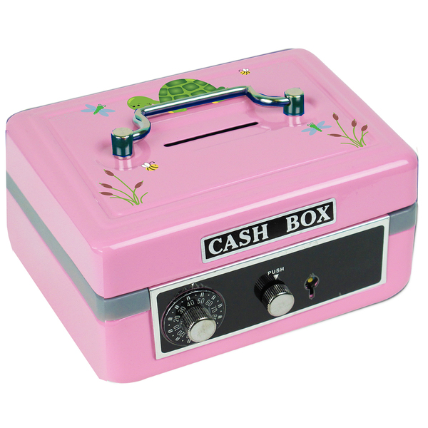 Personalized Turtle Cash Box