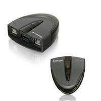 IOGear 2 Port USB 2.0 Auto.printer Sw
