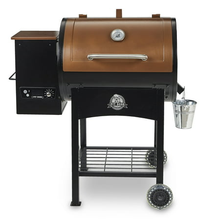 Pit Boss Classic 700 Sq  In  Wood Fired Pellet Grill W  Flame Broiler