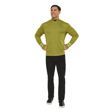 Classic Star Trek Costume (Star Trek Mens Beyond: Captain Kirk Classic Adult Shirt Halloween)