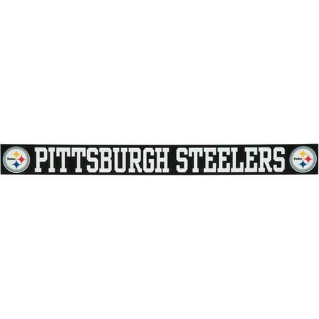 Pittsburgh Steelers 2'' x 19'' Letters Die-Cut Decal](Steelers Accessories)
