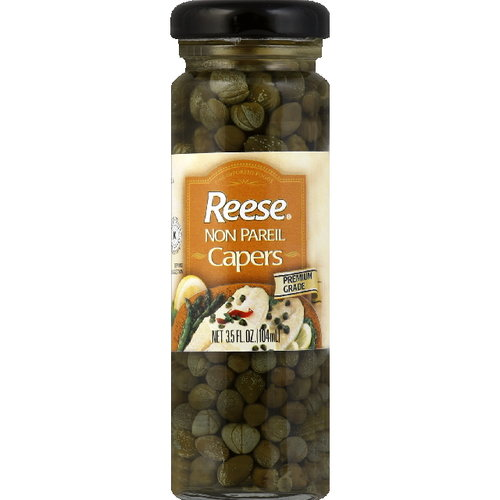 Reese Non Pareil Capers, 3.5 oz (Pack of 12)