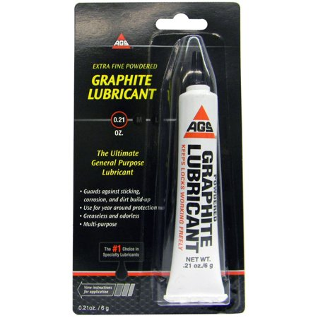 Ags Mz-2 6 Gram Extra Fine Graphite Lubricant, Oderless and non-toxic Ship from US..., By American Grease Stick