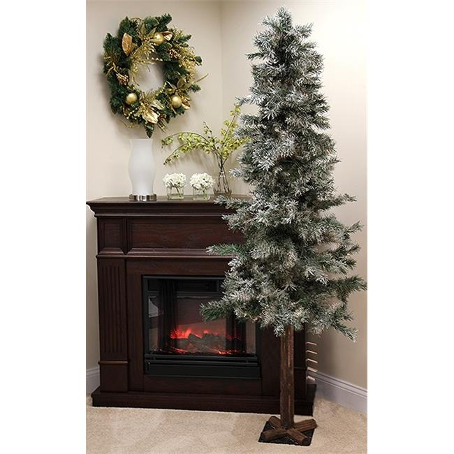 Northlight Seasonal 31733899 Frosted and Glittered Woodla...