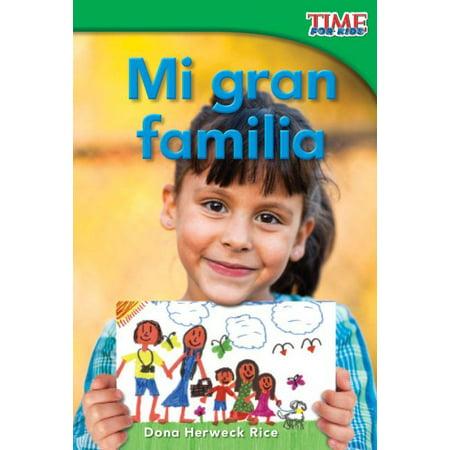 - Mi Gran Familia (My Big Family) (Spanish Version) (Emergent)