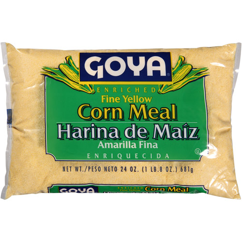 Goya Enriched Fine Yellow Corn Meal, 24 oz, (Pack of 12)