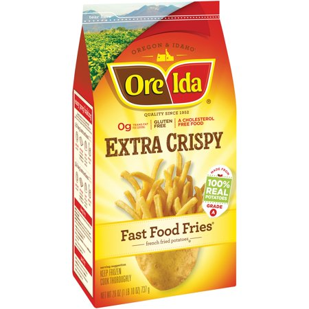 Are Ore Ida Fast Food French Fries Gluten Free