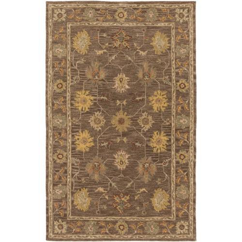 Surya Carpet, Inc. Hand-Tufted Akio Bordered Wool Rug (2'...