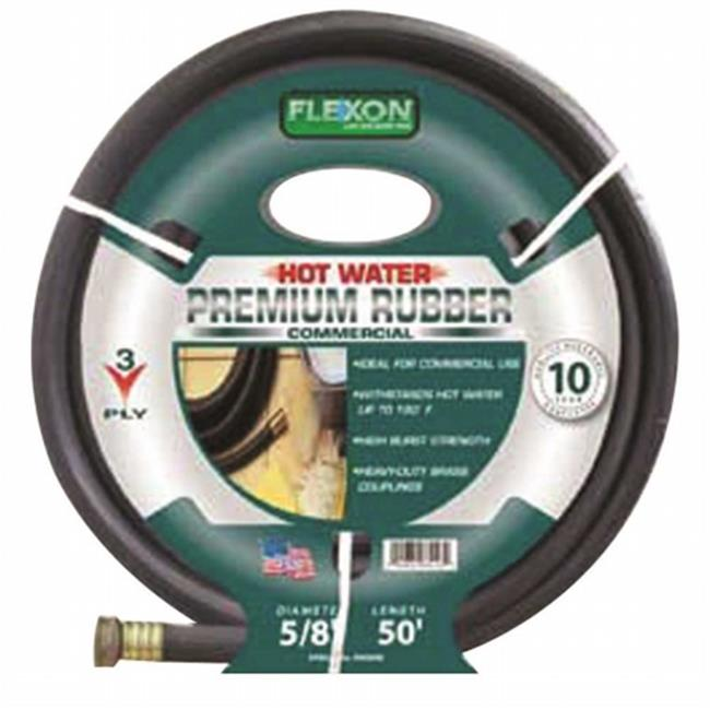 Flexon Ph5825C Commercial Premium Rubber Hose 5/8 In. X 25 Ft.