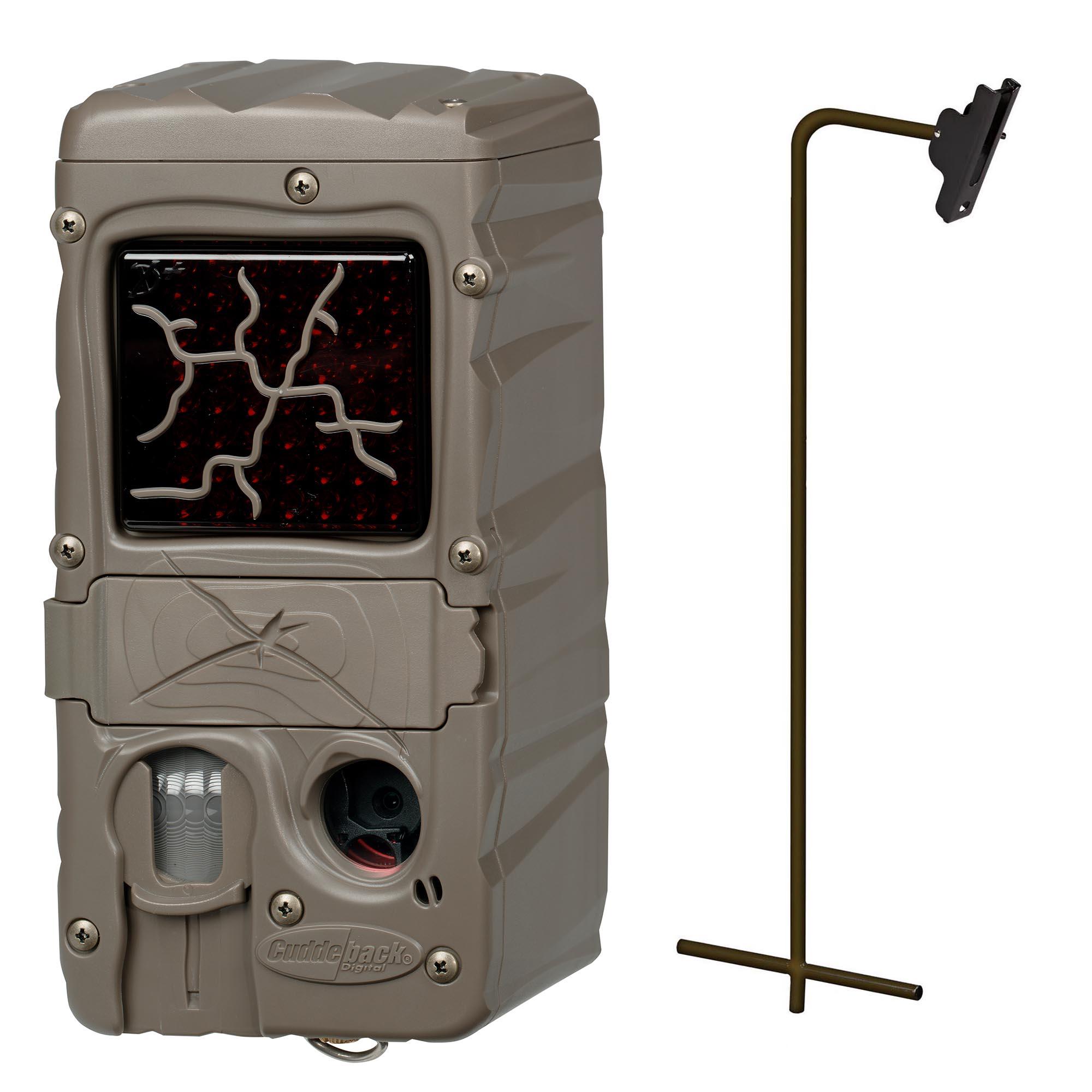 cuddeback dual flash cuddelink infrared game trail camera