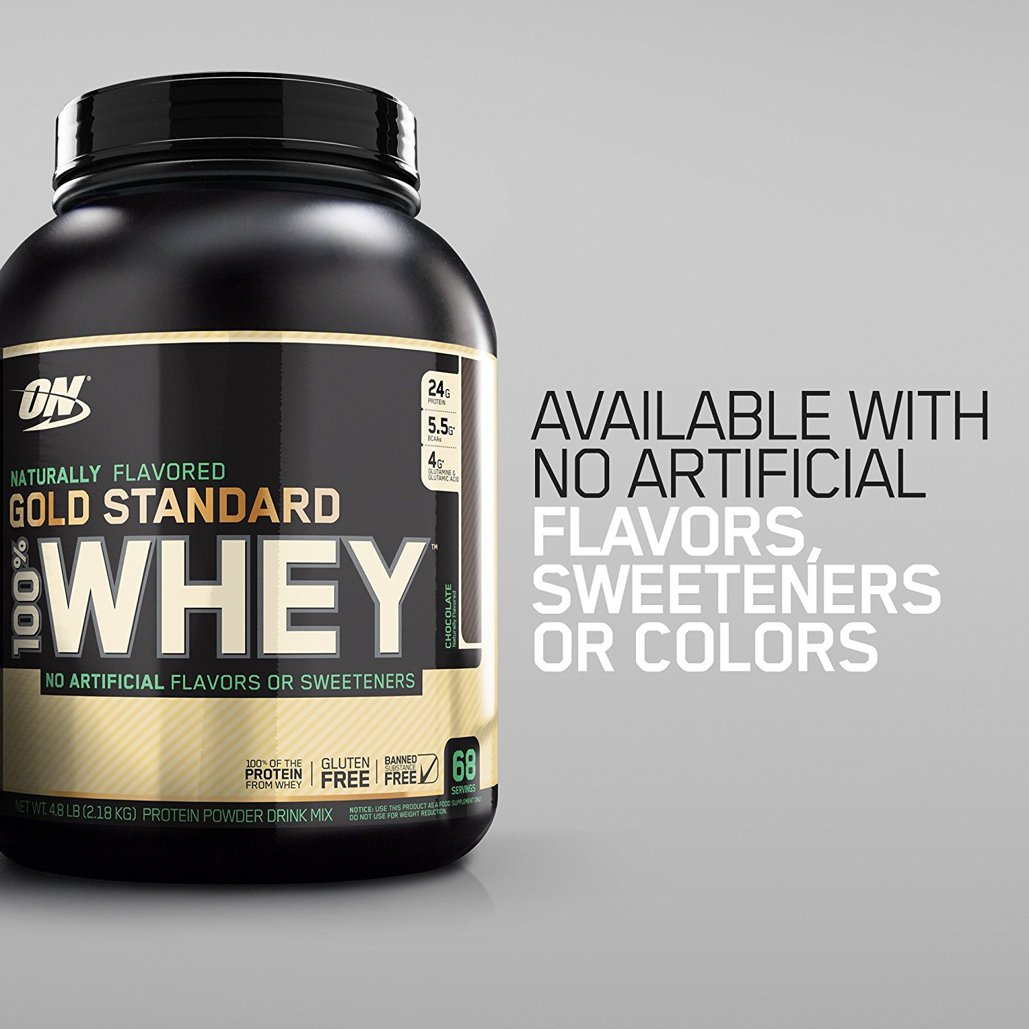 295e42cb0 Optimum Nutrition Gold Standard 100% Whey Protein Powder