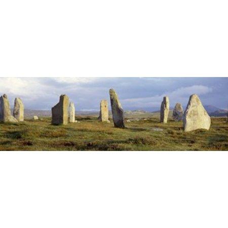 Callanish Stones Isle Of Lewis Outer Hebrides Scotland United Kingdom Canvas Art - Panoramic Images (18 x 6) (Chess Isle Of Lewis)
