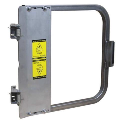 PS DOORS LSG-33-SS Safety Gate, 31-3/4 to 35-1/2 In, SS