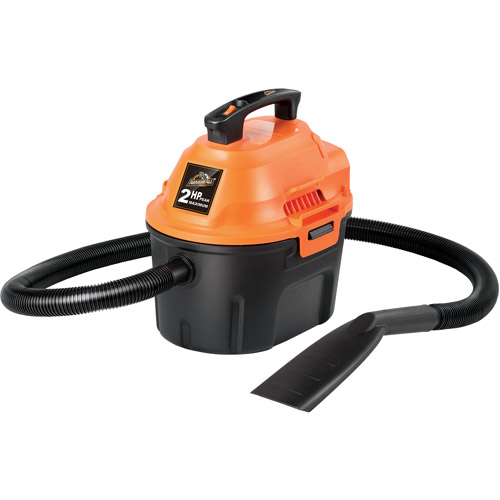 ArmorAll 2.5-Gallon 2.0-Peak HP Wet/Dry Vac, AA255: