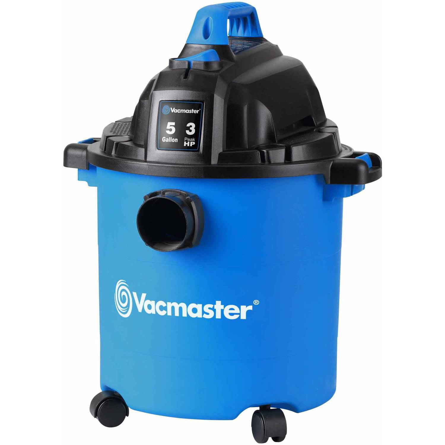 Vacmaster 5-Gallon 3HP Lightweight Wet/Dry Vac, VJC507P