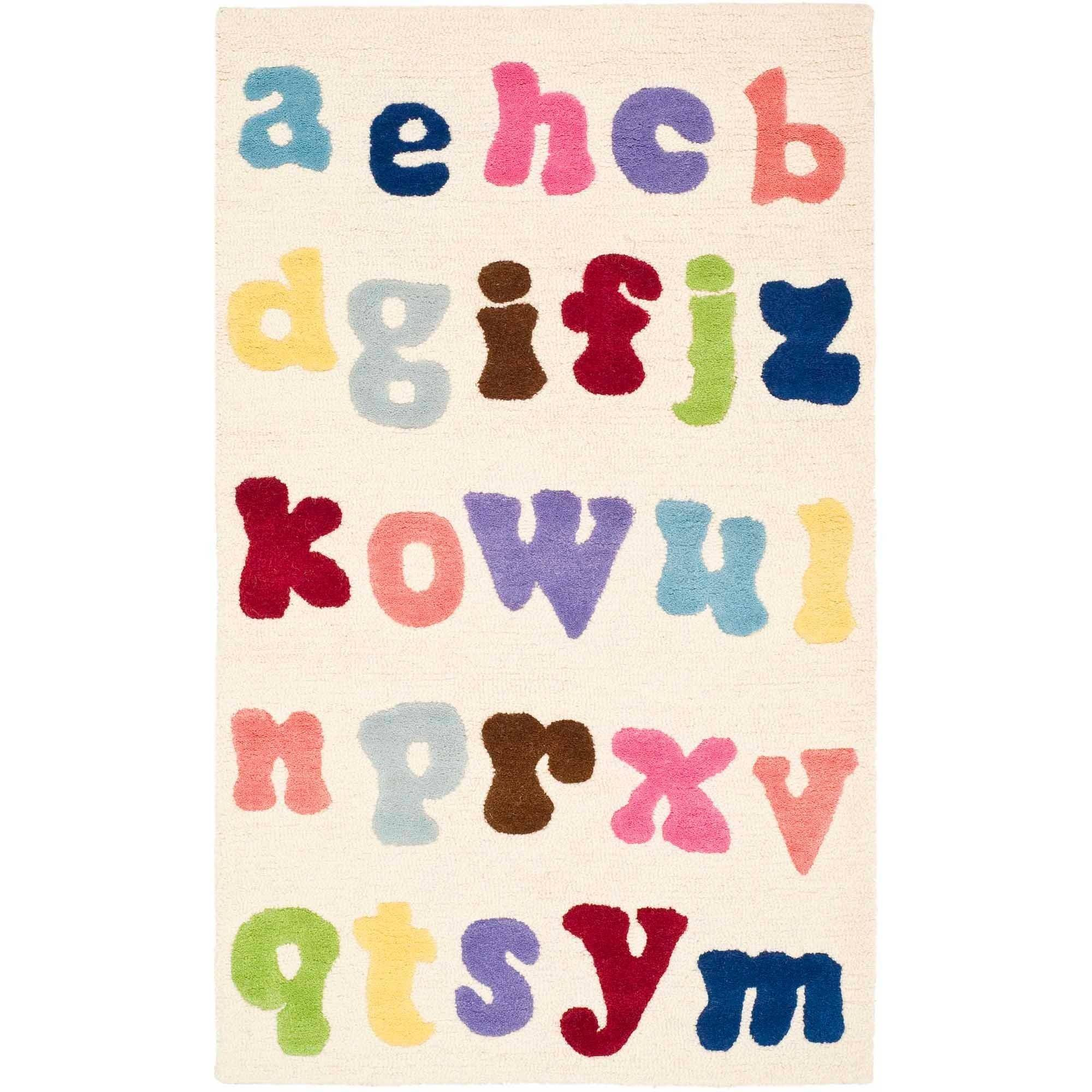Safavieh Kids Ryker Hand-Tufted Area Rug, Ivory/Multi