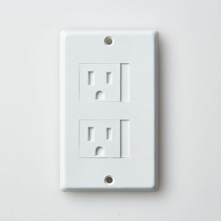 Mommy's Helper Safe-Plate? - Electrical Outlet Covers - Decora units - White