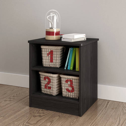South Shore Smart Basics Open Shelf Nightstand, Multiple Finishes by South Shore