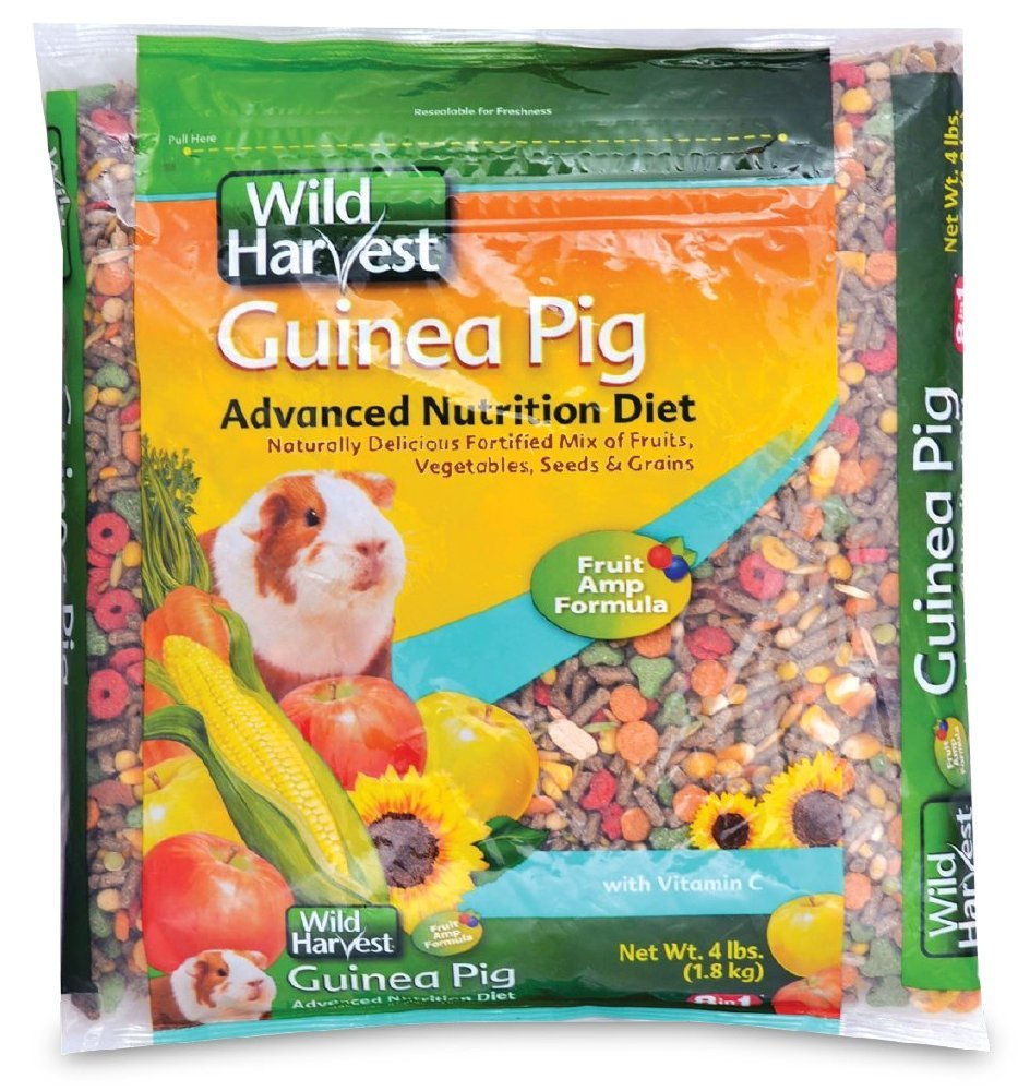 Wild Harvest Guinea Pig Advanced Nutrition Diet, 4 lbs