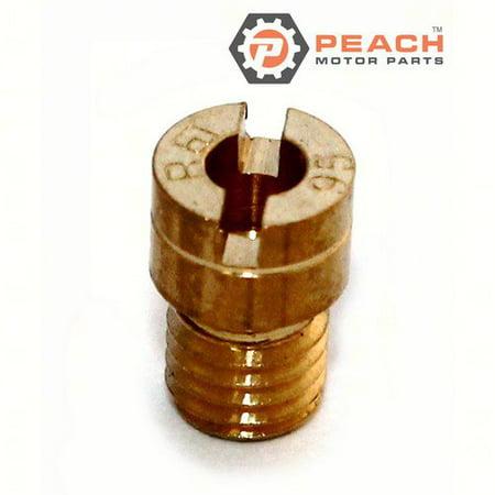 Peach Motor Parts PM-09491-95008  PM-09491-95008 Main Jet; Replaces Suzuki®: 09491-95008