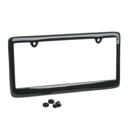 100% Real Carbon Fiber License Plate Frame - Carbon Fiber (1 Pack)