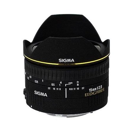 Sigma 15mm f/2.8 EX DG Diagonal Fisheye Lens for Nikon SLR