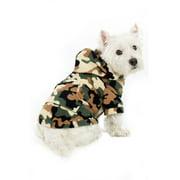 Footed Pajamas - CamoForce Green Pet Pjs Fleece Hoodie