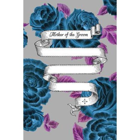 Mother of the Groom: 6x9 Wedding Planner Dual Sketchbook / Lined Notebook for the Mother of the Groom & the Whole Wedding Party!