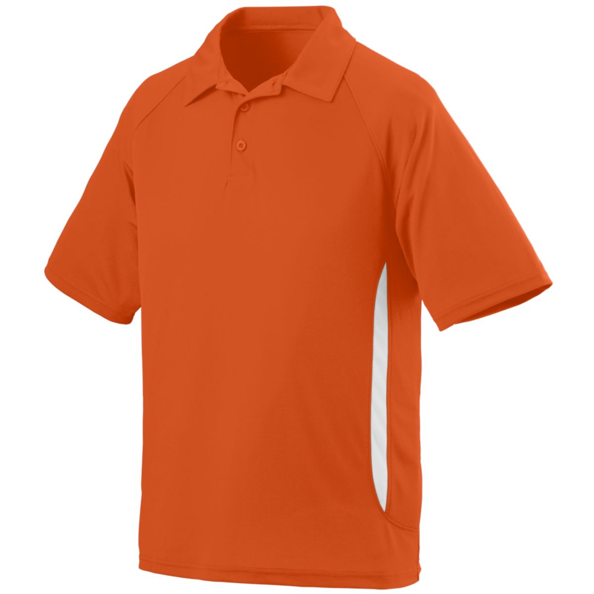 Augusta Mission Sport Shirt Ora/Whi 3Xl - image 1 of 1
