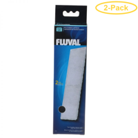 Fluval Underwater Filter Stage 2 Polyester/Carbon Cartridges U4 Filter Cartridge (2 Pack) - Pack of 2