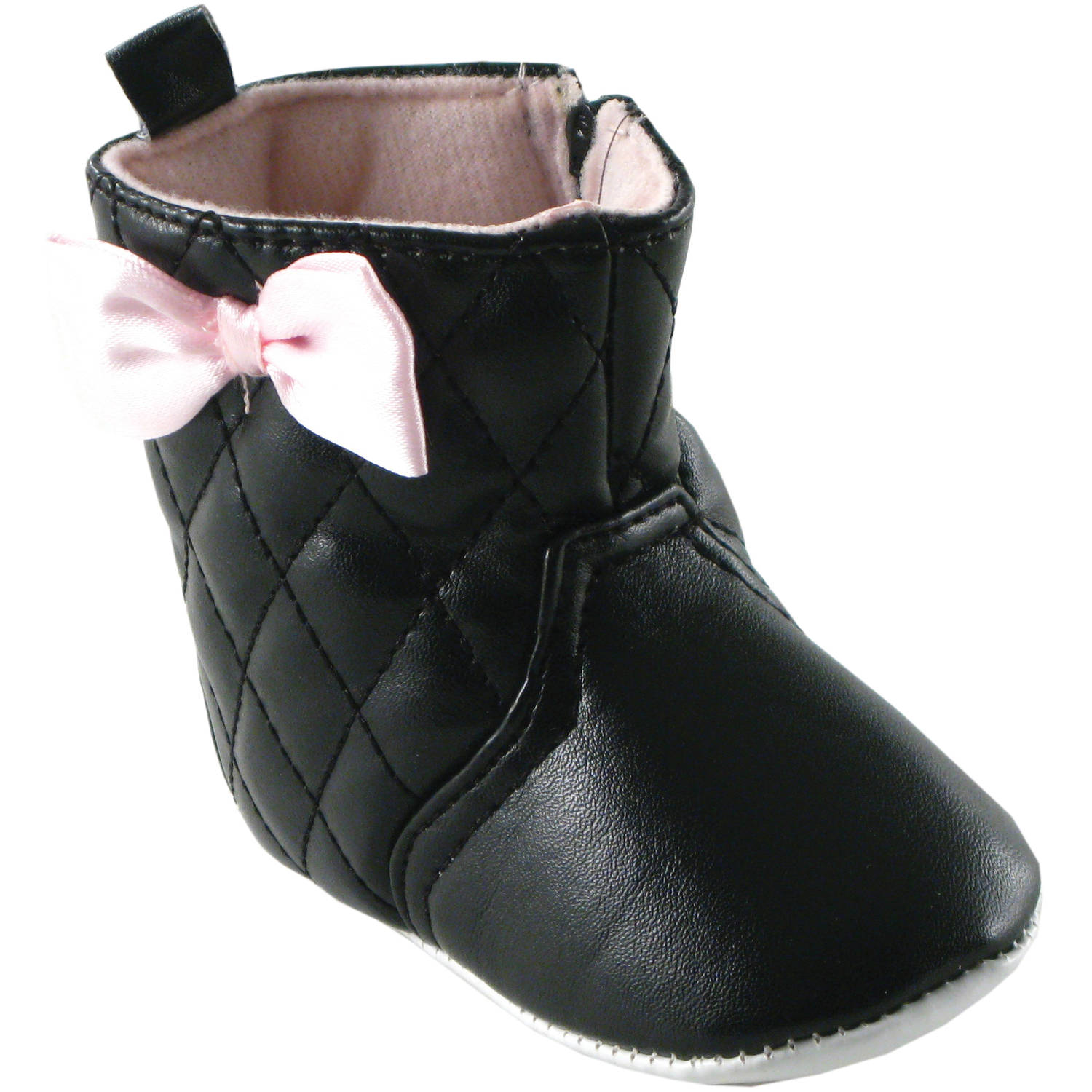 Luvable Friends Newborn Baby Girls Quilted Boots