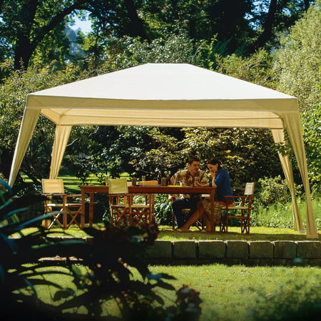 Coolaroo Rectangle Isabella Gazebo, 12' x 10', Camel