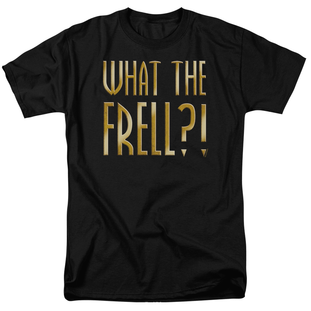 Farscape/What The Frell S/S Adult 18/1   Black     Far111