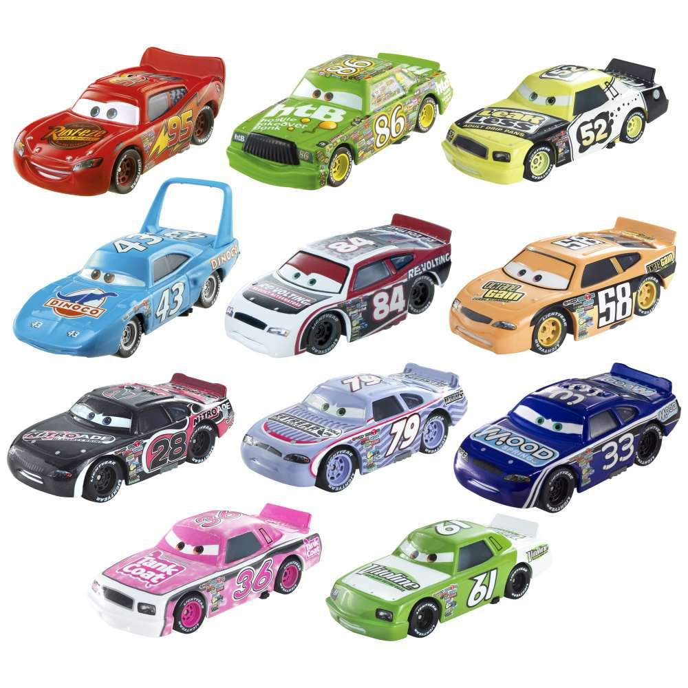 Disney Cars Piston Cup Collector Pack Diecast Car 11-Pack Set #2