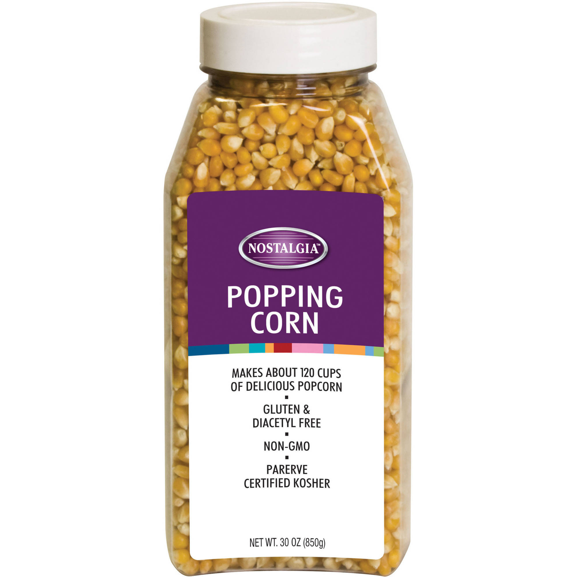 Nostalgia PCJ30 Soft-Shelled Popping Corn
