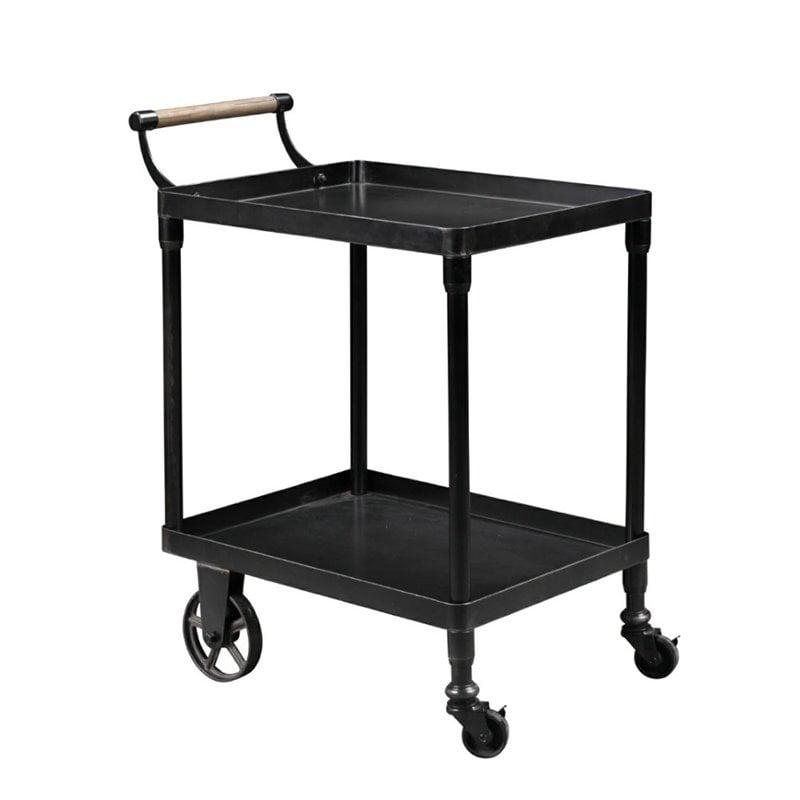 Burnham Home Designs Serving Cart in Black by Burnham Home Designs