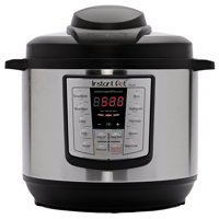 Instant Pot LUX80 8 Qt 6-in-1 Multi-Use Programmable Pressure Cooker, Slow Cooker, Rice Cooker, Saute, Steamer, and Warmer