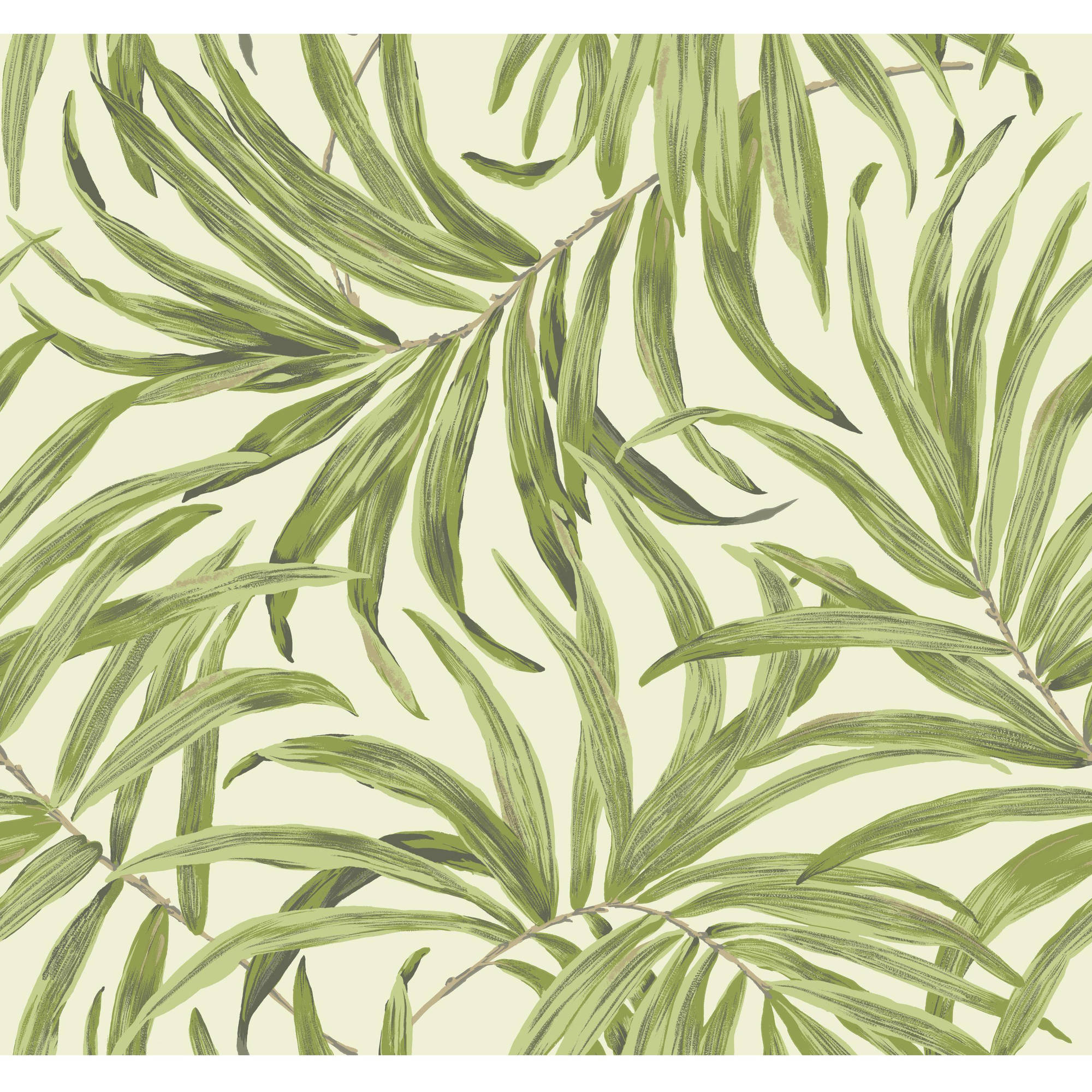 Tropics Bali Leaves Wallpaper