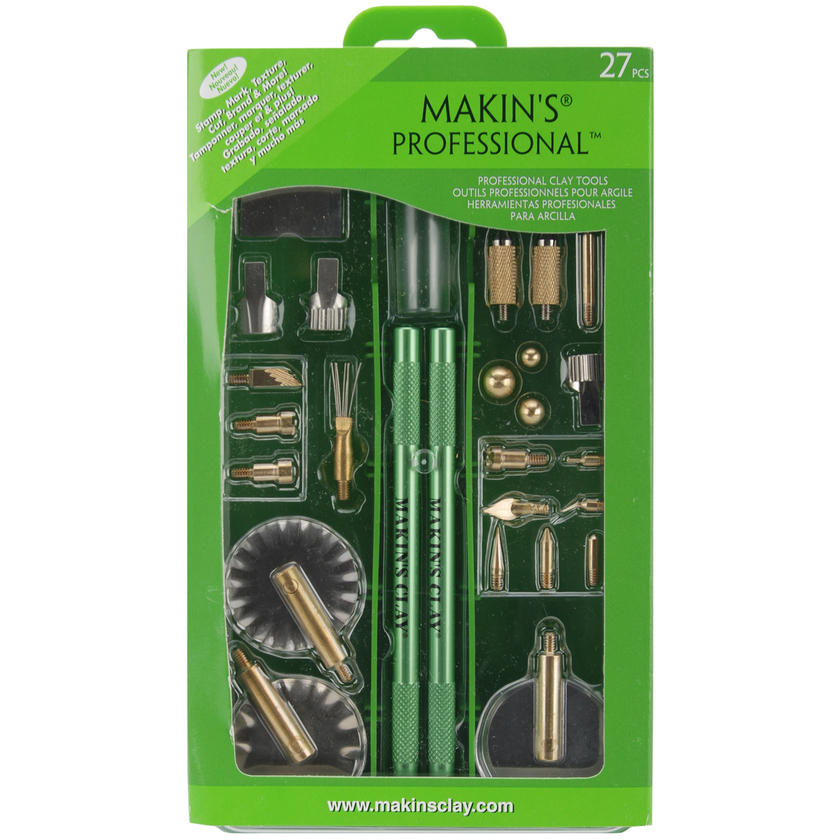 Makin's Professional 27 Piece Clay Tool Set