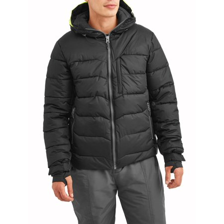 Men's Anchor Snow Coat Insulated Performance Board Jacket with Tech Snowskirt, up to size 3XL - Performance Outerwear