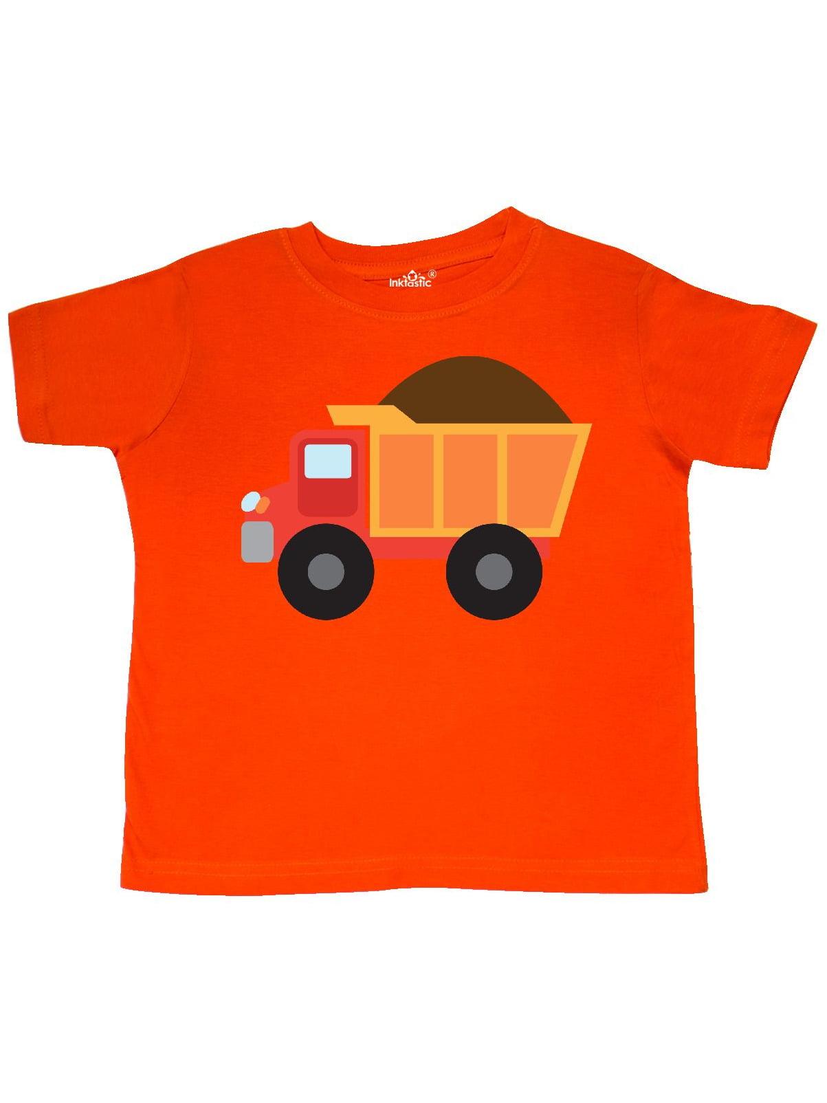Work Truck Construction Vehicle Toddler T-Shirt