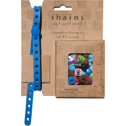 Shains Choker/Wrap Bracelet with 45 Elements, Lake