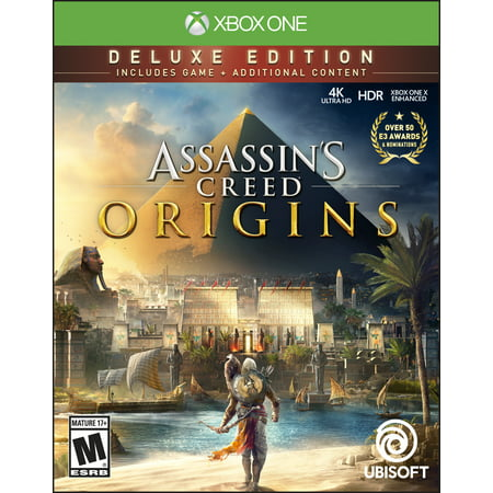 Assassins Creed  Origins Deluxe Edition  Ubisoft  Xbox One  887256028596
