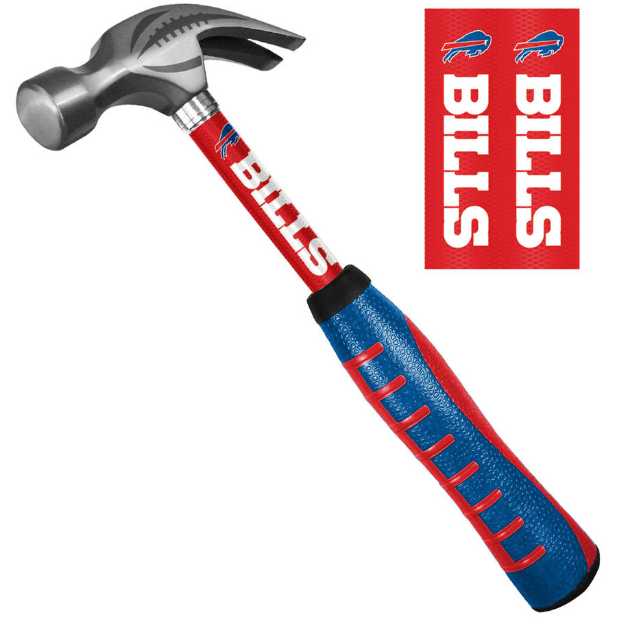 Sainty 08304 Buffalo Bills 16oz Steel Hammer