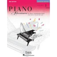 Level 1 - Lesson Book: Piano Adventures (Paperback)
