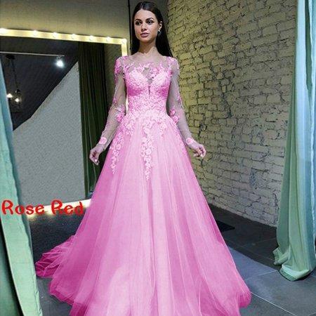 Women Gorgeous Long Dress Ball Gown Wedding Dress Ball Bridal Gown