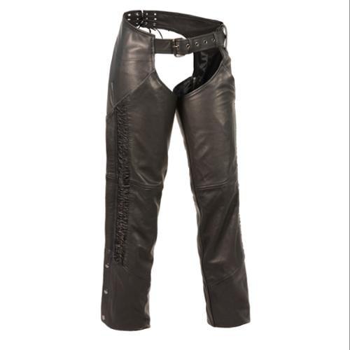 Milwaukee Leather - Ladies Lightweight Low Rise Chap w/ B...